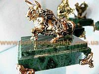 Эксклюзивная бронзовая статуэтка  Бык Телец
