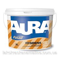 Фасадная краска модифицированная силиконом Fasad Residens Luxpro Aura Eskaro (2,7л)
