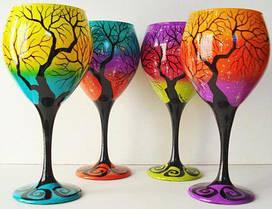 Контуры по стеклу и керамике