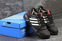 Зимние кроссовки Adidas Terrex, чёрные с белым