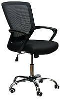 Кресло офисное компьютерное Marin black, с механизмом Tilt, спинка - сетка, сидение PP - полипропилен