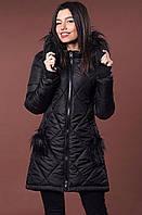 Черная классическая куртка