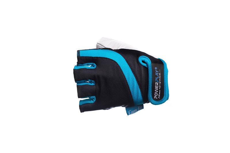 Перчатки для фитнеса PowerPlay (02-2311 BLUE) женские размер M