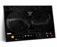 Карта зоряного неба Star map of the sky (англ) (тубус)