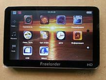 GPS навигатор 5'' Freelander. Укр-Рос-Евр