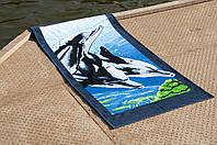Полотенце Lotus пляжное - Dolphins 75*150 велюр