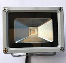 Светодиодный прожектор SL-10 10W желтый IP65 Код.59058, фото 2