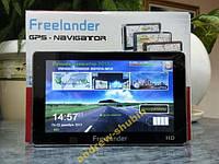 GPS навигатор 7'' Freelander. IGO-Navitel-CityGuid