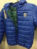 Демисезонная куртка для подростка 134/140 см, фото 3