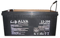 "Аккумулятор гелевый AGM (200Ач, 12В) ""ALVA AW12-200"""