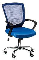 Кресло офисное Marin bluе, с механизмом Tilt, спинка - сетка, сидение PP - полипропилен Бесплатная доставка, фото 1