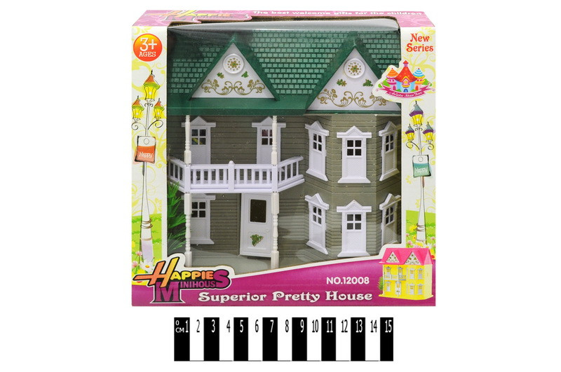Домик для кукол 12008\12008-1
