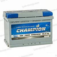 Акумулятор Champion 74 Ah/12 Euro (0)