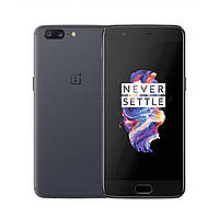"Смартфон OnePlus 5 6/64GB Slate Grey серый (2SIM) 5,5"" 6/64Gb 16/16Мп 3G 4G оригинал Гарантия!"