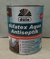 Дюфа Дюфатекс Аква антисептик цветная пропитка (0,75л)