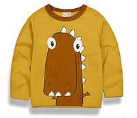 """Детская футболка с длинным рукавом """"Динозавр"""""""
