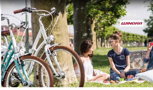 Городские и туристические велосипеды Winora
