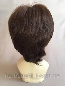 Полунатуральный парик №2 Цвет молочный шоколад