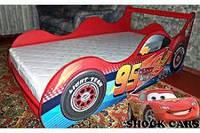 Дитячі ліжка-машинки , фото 1