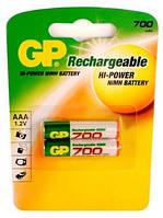 Аккумулятор ААА GP 70AAAHC-U2 700 mAh