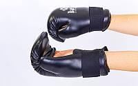 Перчатки для таеквондо официал ITF Daedo (PU) черные
