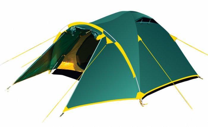 Палатка туристическая четырехместная Tramp Lair 4