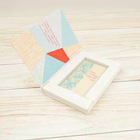 """Шоколадная открытка """"Merry Сhristmas and Happy New Year"""" в оригинальной упаковке В-1"""