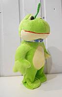 Мягкая игрушка Лягушка музыкальная, фото 1