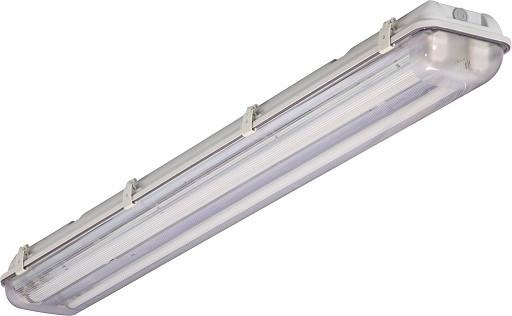 На картинке изображен светильник под 2 лампы Т8 длиной 900 мм
