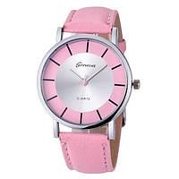 Часы G-004 диаметр циферблата 3.8 см, длина ремешка 17-21 см, розовый цвет