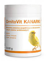 Dolfos OrnitoVit KANARKI- водорастворимый витаминный комплекс канареек (182-60) 60г