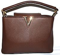 Женские маленькие сумочки 25*17 (каштан)