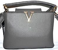 Женские маленькие сумочки 25*17 (серый)