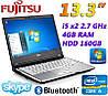 """Надежный недорогой Ноутбук Fujitsu LIFEBOOK S760 13.3"""" i5 2x2.6GHz 4GB RAM 160GB"""