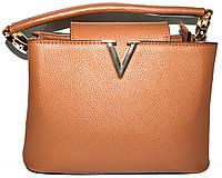Женские маленькие сумочки 25*17 (беж)
