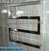 Полотенцесушитель Ultra 3/550 мм. из квадратной трубы 30х30 для современного дизайна ванной комнаты