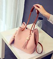 Женская молодежная сумка с кошельком Haley Уценка