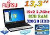 """Недорогой игровой ноутбук Fujitsu S762 13.3"""" i5 8GB RAM"""