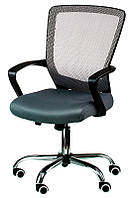 Кресло офисное Marin grеy, с механизмом Tilt, спинка - сетка, сидение PP - полипропилен Бесплатная доставка