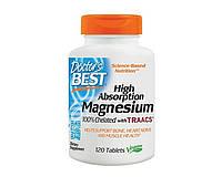 Витамины Doctor's BEST Magnesium High Absorption 120 таблеток