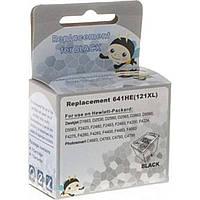 Картридж MicroJet для HP №121 Black (CC641HE) (HC-I121B)