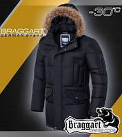 Мужская куртка фабричная модная с опушкой