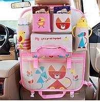 Детский органайзер на сиденье автомобиля !
