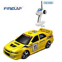 Автомодель р/у 1:28 Firelap IW04M Mitsubishi EVO 4WD (желтый), фото 1