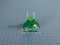 """Присоска для зеленых трубчатых распылителей (силиконовая, зеленая типа """"рогач"""")"""