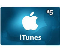 ITunes Gift Card 5$ (USA)