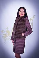 Курточка-трансформер с норкой