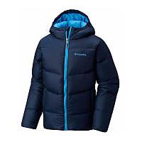Куртка пуховая Коламбия для мальчиков SPACE HEATER™ II JACKET синяя WB1023 464