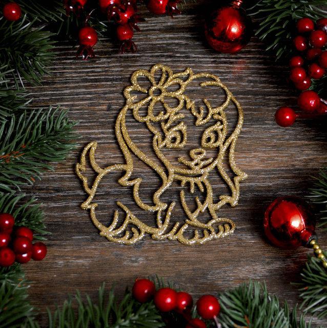 Новогоднее украшение «Кнопочка » 8 шт  106G