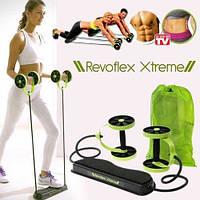 Тренажер для пресса Revoflex Xtreme, Ревофлекс Экстрим - домашний тренажер эспандер, фото 1